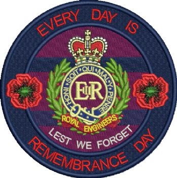 RE Everyday is Remembrance Day Badge